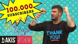 100.000 Subscribers! 100.000 Thank You !!! by Akis Kitchen