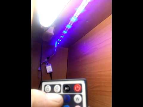 RGB Led strip,and IR controller from Banggood.com