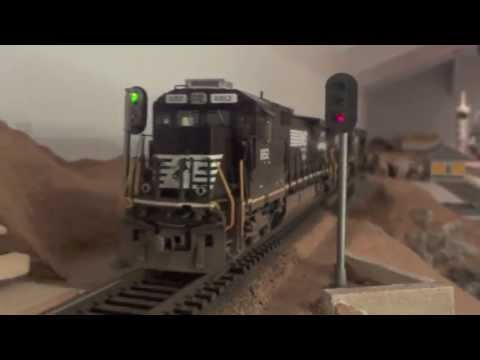 ho scale - While Im away on vacation for the week and am unable to work on the layout, I figured I would upload some video we shot while a friend was over. Thanks for w...