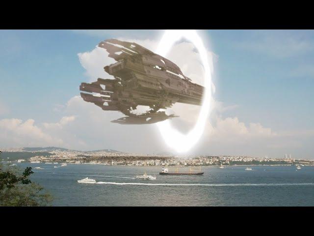 Ufo Mothership Arrives...