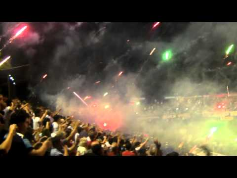 los caudillos del parque vs sarmiento (gol de garcía mas fiesta con bengalas) - Los Caudillos del Parque - Independiente Rivadavia
