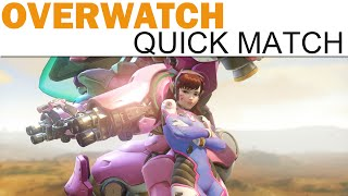 Overwatch Beta - D.Va (Defending) on Numbani (Quick Match), Blizzard Entertainment, World of Warcraft