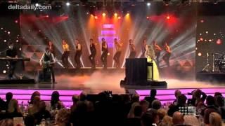 Delta Goodrem - 'Sitting on Top of the World' Live at the Logie Awards (April 15, 2012)