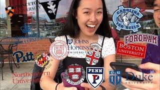 Video College Decision Reactions 2019!! (15 Schools: Ivies + Hopkins + Vanderbilt + Duke + BU, etc) MP3, 3GP, MP4, WEBM, AVI, FLV Agustus 2019