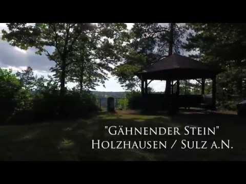 Drohnenflug Gaehnender Stein Holzhausen Sulz a.N. // droneflight Holzhausen Germany