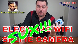 Elecwave EW-SC01 Stick Anywhere Selfie Sport Camera