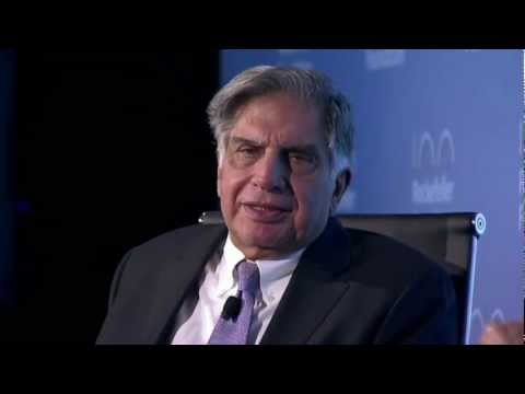 Innovation Forum 2012: Fireside Chat with Ratan N. Tata