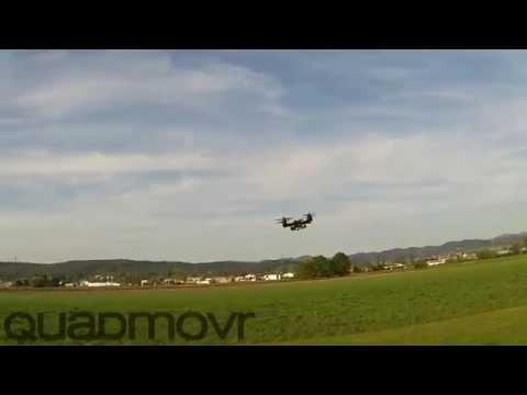 Фигуры высшего пилотажа от суперскоростного дрона!