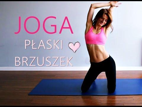Joga na Płaski Brzuch ♥ 15-minutowy Trening Brzucha