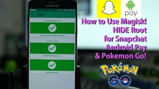 In this tutorial, I show you how to use Magisk Manager V12(latest version) to HIDE root for apps that check for root such as Snapchat, Android Pay, Pokemon Go, and more.Read more about Magisk here on my site:http://highonandroid.com/android-howtos/how-to-use-magisk-to-hide-root-for-snapchat-android-pay-pokemon-go-latest-method/Also see Note 5 Magisk Root Tutorial here as an example on how to install Magisk ZIP:https://www.youtube.com/edit?o=U&video_id=MKKEH0dS9eo-----------------------------------------Join the HighOnAndroid VIP Fans List for free help from Max and discounts on Android accessories:http://highonandroid.com/newsletter.phpYouTube Audio Library Credits:Mr Pink, Voodoo Like You Do
