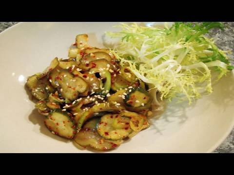 Korean Recipe: How to Pickle Cucumber – Spicy Cucumber Pickle Salad – Cold Cucumber Pickle Soup – Oijangajji – 오이장아찌