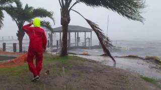Ormond Beach (FL) United States  City pictures : Hurricane Matthew - Halifax River in Ormond Beach, FL