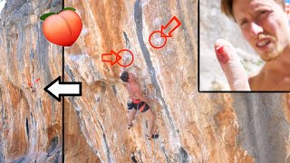 Onsight Fail to 2nd Go: Analysing Popo 8a / 5.13b by Mani the Monkey