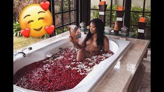MY FIRST BALINESE FLOWER BATH!! | AALIYAHJAY by Ms Aaliyah Jay
