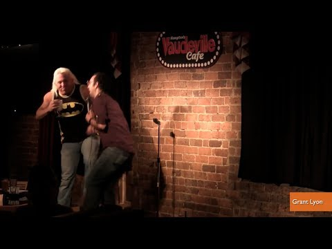 Heckler Knees Comedian in Groin On Stage