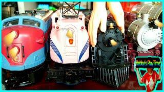 Video Toy Train Videos For Toddlers, Kids, Babies With Nursery Rhymes. Old Mcdornald, Lodon Bridge Songs. MP3, 3GP, MP4, WEBM, AVI, FLV Oktober 2017