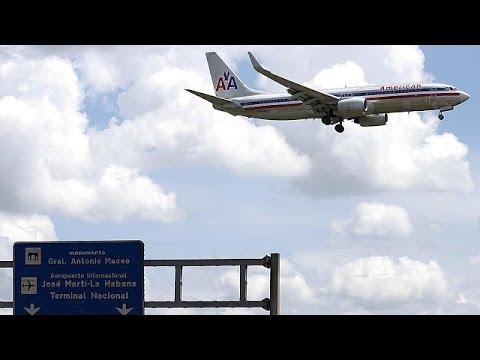 Κούβα – ΗΠΑ: Πράσινο φως για επανέναρξη αεροπορικής σύνδεσης