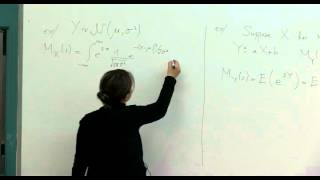 Probability And Random Variables - Week 12 - Lecture 2