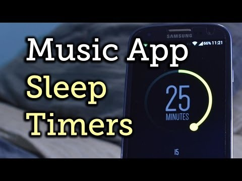 Video of Sleep Timer (Turn music off)