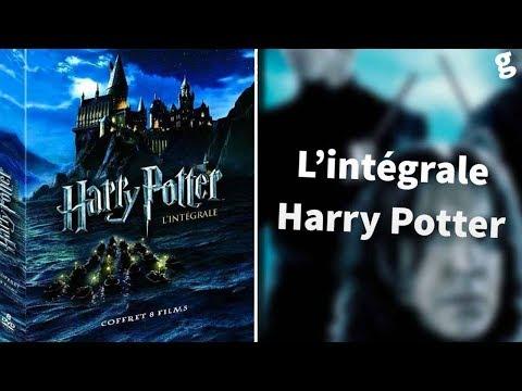 HARRY POTTER - L'intégrale // coffret DVD neuf