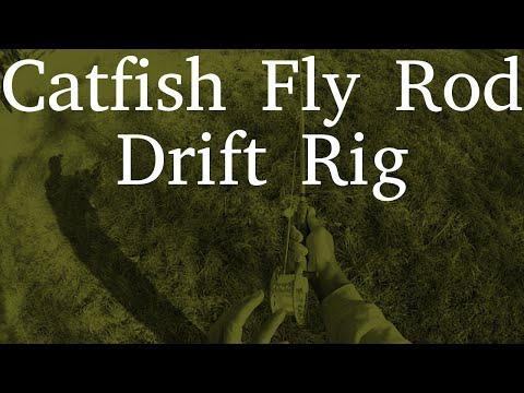 Catfish Fly Rod Drift Rig