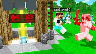 Minecraft RAIDING a kids most prized ITEM..