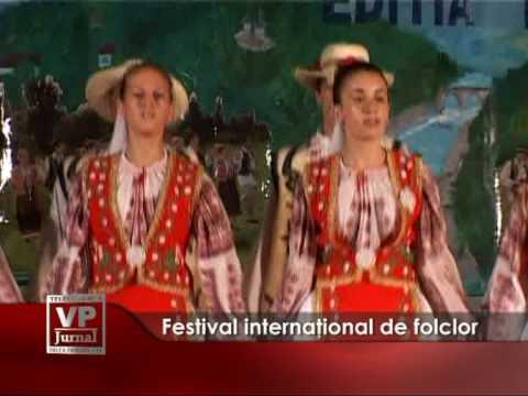 Festival internaţional de folclor