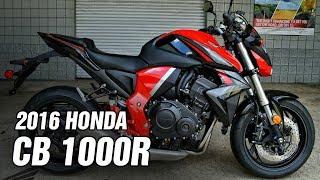 8. 2016 Honda CB1000R SPEC