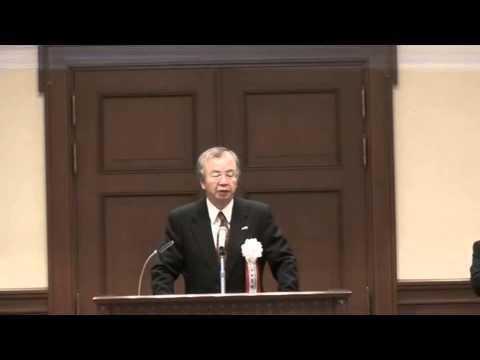 【主催者挨拶】 *河田惠昭(かわたよしあき) 人と防災未来センター長
