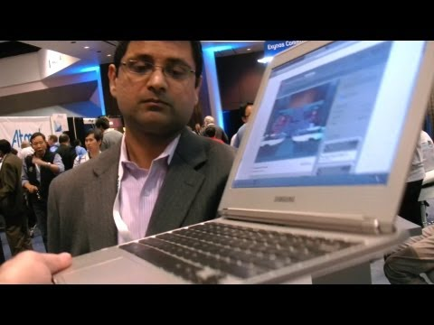 Samsung Chromebook Showcased at ARM TechCon