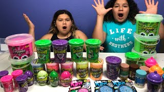 Video MIXING ALL OUR STORE BOUGHT SLIMES - GIANT SLIME SMOOTHIE MP3, 3GP, MP4, WEBM, AVI, FLV Maret 2018