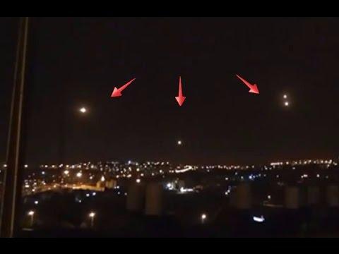 increbile avvistamento di 4 ufo nei cieli israeliani (2017)