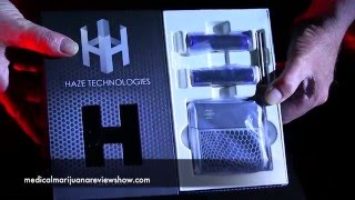 Haze Dual v3 Unboxing !! by Medical Marijuana Review Show