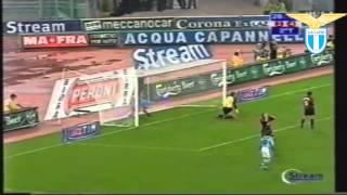 Marcelo Salas´ Treffer für Lazio Rom
