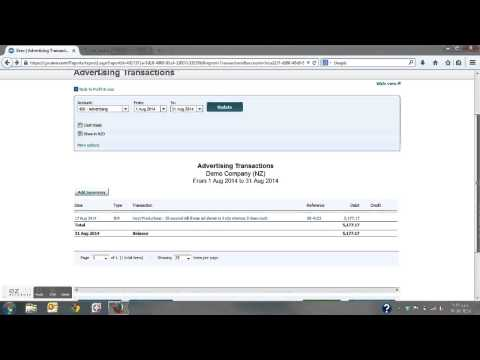 Xero Training - Correcting Transactions