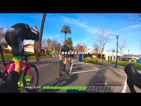 There are no friends in racing (A Crit Race Breakdown)