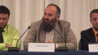 Tribunë Islame në Hotel International Tirana - Bekir Halimi, Ekrem Avdiu dhe Ahmed Kalaja