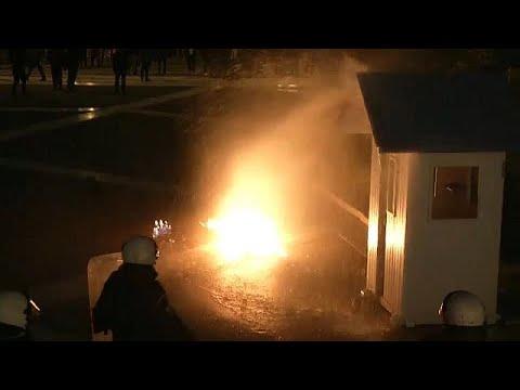 Athen: Teils gewaltsame Proteste gegen Reformen