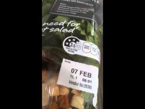 Creepy Crawly Salad: Video of Spider in Pre-Packaged Salad