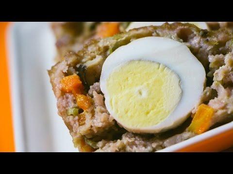 Lạ miệng, ngon cơm ăn hoài không chán với cách làm chả trứng đúc thịt