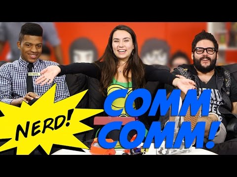 comm - Will, Trish and Steve get weird on Nerd Comment Commentary! GET OUR OFFICIAL APP: http://bit.ly/aIyY0w More stories at: http://www.sourcefed.com Follow us on...