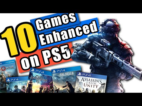 Best PS4 Games To Play On PS5 With Improved Frame Rates 60FPS!