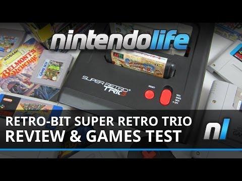Retro-Bit Super Retro Trio & Super Retro Advance Adapter Video Review And Games Test