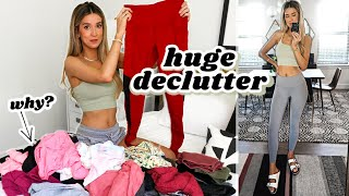 HUGE DECLUTTER: WORK OUT CLOTHES & ACTIVEWEAR | leighannsays by Leigh Ann Says