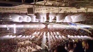 Show do Coldplay realizado no dia 07 de abril de 2016 em São Paulo da turnê A HEAD FULL OF DREAMS.