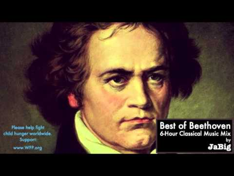 classical - Like JaBig on Facebook: http://www.facebook.com/JaBig This six hour Classical Music arrangement features some of the best piano Sonatas by Ludwig van Beethoven, the famous German composer...