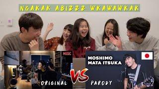 "Video REAKSI TEMEN"" JEPANG DENGERIN LAGU MOSHIMO MATA ITSUKA by ARIEL! ASIKKKK!! MP3, 3GP, MP4, WEBM, AVI, FLV Juni 2019"
