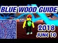 Roblox Lumber Tycoon 2 Blue Wood Maze Guide Road Map - 10.06.2018