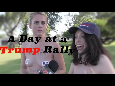 VIDEO: Our colleague Mike Slater (from the mighty 760 AM KFMB in San Diego) talked to a bunch of wacky anti-Trump protesters