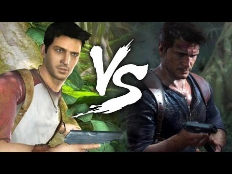 uncharted - Uncharted graphics comparison video between two cinematic trailers from Uncharted (2006) and Uncharted 4 (2014) ! ➥ Subscribe NOW : http://bit.ly/Game-News ➥...